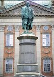 ΣΤΟΚΧΟΛΜΗ, ΣΟΥΗΔΙΑ - 19 ΑΥΓΟΎΣΤΟΥ 2016: Άποψη σχετικά με το μνημείο του βοδιού του Axel Στοκ φωτογραφίες με δικαίωμα ελεύθερης χρήσης