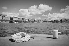 Στοκχόλμη αναδρομική Στοκ Φωτογραφία