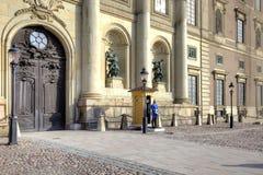 Στοκχόλμη παλάτι βασιλικό Στοκ φωτογραφία με δικαίωμα ελεύθερης χρήσης