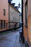 Στοκχόλμη, Σουηδία, ένα μικρό ξενοδοχείο στην οδό της Στοκχόλμης Στοκ Εικόνες