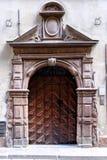 Στοκχόλμη, Σουηδία, αρχαία μπροστινή πόρτα στην παλαιά πόλη Στοκ φωτογραφία με δικαίωμα ελεύθερης χρήσης