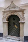 Στοκχόλμη, Σουηδία, αρχαία μπροστινή πόρτα στην παλαιά πόλη Στοκ Φωτογραφία