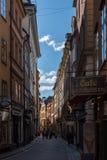 Στοκχόλμη, Σουηδία, περπατώντας τουρίστες Στοκ φωτογραφία με δικαίωμα ελεύθερης χρήσης