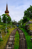 Στοκχόλμη, Σουηδία, τελεφερίκ μεταφορά Στοκ φωτογραφίες με δικαίωμα ελεύθερης χρήσης