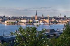 Στοκχόλμη Σουηδία Στοκ φωτογραφίες με δικαίωμα ελεύθερης χρήσης