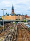 Στοκχόλμη, Σουηδία Στοκ εικόνα με δικαίωμα ελεύθερης χρήσης