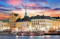 Στοκχόλμη, Σουηδία Στοκ φωτογραφία με δικαίωμα ελεύθερης χρήσης