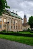Στοκχόλμη, Σουηδία, Riddarholmskyrkan Στοκ φωτογραφία με δικαίωμα ελεύθερης χρήσης