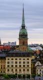 Στοκχόλμη, Tyska kyrkan Στοκ Φωτογραφίες