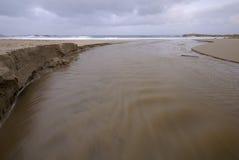 στοματικός ποταμός Στοκ Φωτογραφίες