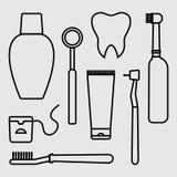 Στοματολογία Προφορική προσοχή και υγιεινή, οδοντιατρική και καθαρισμός δοντιών r ελεύθερη απεικόνιση δικαιώματος