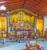 Στον ιαπωνικό ναό Unawatuna στοκ φωτογραφίες με δικαίωμα ελεύθερης χρήσης