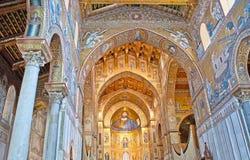 Στον καθεδρικό ναό Monreale Στοκ Φωτογραφίες