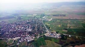 Στον ουρανό πέρα από τη Βουλγαρία στοκ εικόνες