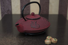 Στον πίνακα είναι κινεζικό τσάι Στοκ εικόνες με δικαίωμα ελεύθερης χρήσης