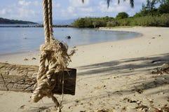 Στον παράδεισο νησιών δεν υπάρχει κανένας Στοκ φωτογραφία με δικαίωμα ελεύθερης χρήσης