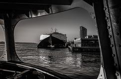 Στον ποταμό Μέρσεϋ Στοκ εικόνες με δικαίωμα ελεύθερης χρήσης