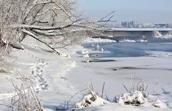 Στον ποταμό 4 Στοκ Φωτογραφία