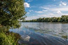 Στον ποταμό Στοκ Εικόνες
