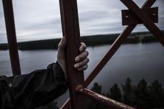 Στον πύργο Στοκ Εικόνες