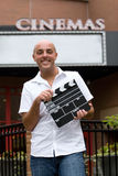 Στους κινηματογράφους στοκ φωτογραφία με δικαίωμα ελεύθερης χρήσης