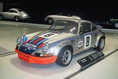Στουτγάρδη, Γερμανία - το Νοέμβριο του 2009: Porsche 911 Carrera RSR στο μουσείο της Porsche στοκ φωτογραφία με δικαίωμα ελεύθερης χρήσης