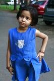 Στοχαστικό ασιατικό κορίτσι Στοκ φωτογραφία με δικαίωμα ελεύθερης χρήσης