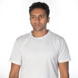 Στοχαστικό νέο ινδικό άτομο Στοκ φωτογραφία με δικαίωμα ελεύθερης χρήσης