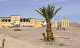 Στούντιο ατλάντων, Ouarzazate στοκ φωτογραφία με δικαίωμα ελεύθερης χρήσης