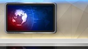 Στούντιο ειδήσεων 99C2 (ώθηση) απεικόνιση αποθεμάτων