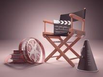 Στούντιο κινηματογράφων Στοκ Εικόνα