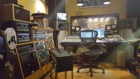 Στούντιο μουσικής Στοκ φωτογραφία με δικαίωμα ελεύθερης χρήσης
