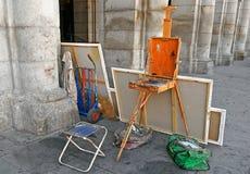 στούντιο οδών ζωγράφων Στοκ Εικόνες