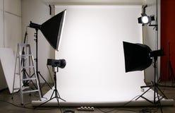 στούντιο φωτογραφίας Στοκ εικόνα με δικαίωμα ελεύθερης χρήσης