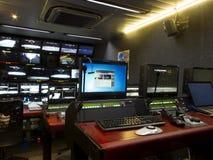Στούντιο TV Στοκ φωτογραφία με δικαίωμα ελεύθερης χρήσης