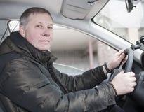 Στο αυτοκίνητο Στοκ εικόνες με δικαίωμα ελεύθερης χρήσης