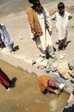 Στο αφγανικό χωριό Στοκ Εικόνες