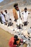 Στο αφγανικό χωριό Στοκ φωτογραφία με δικαίωμα ελεύθερης χρήσης