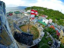Στο θέρετρο PG Tropicana Castle των Φιλιππινών Στοκ Φωτογραφίες