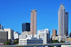Στο κέντρο της πόλης Ατλάντα, Ηνωμένες Πολιτείες στοκ εικόνες
