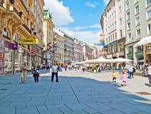 στο κέντρο της πόλης Βιέννη στοκ εικόνες με δικαίωμα ελεύθερης χρήσης