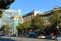 Στο κέντρο της πόλης εικονική παράσταση πόλης του San Jose, Καλιφόρνια, ΗΠΑ Στοκ εικόνα με δικαίωμα ελεύθερης χρήσης