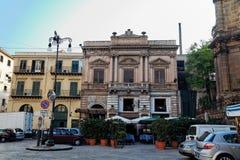 στο κέντρο της πόλης Ιταλία Παλέρμο Σικελία Στοκ φωτογραφία με δικαίωμα ελεύθερης χρήσης