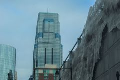 Στο κέντρο της πόλης κτήρια του Μισσούρι πόλεων του Κάνσας στοκ φωτογραφίες με δικαίωμα ελεύθερης χρήσης