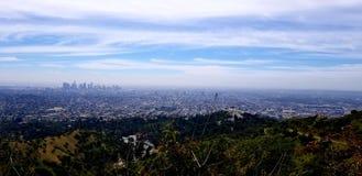 Στο κέντρο της πόλης Λα από Griffith το πάρκο στοκ φωτογραφίες