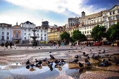 στο κέντρο της πόλης Λισσ&a Στοκ εικόνες με δικαίωμα ελεύθερης χρήσης