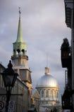 στο κέντρο της πόλης Μόντρε&a Στοκ εικόνα με δικαίωμα ελεύθερης χρήσης
