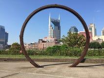 Στο κέντρο της πόλης Νάσβιλ Tennessee Στοκ φωτογραφία με δικαίωμα ελεύθερης χρήσης