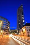 στο κέντρο της πόλης νύχτα τ&o Στοκ φωτογραφίες με δικαίωμα ελεύθερης χρήσης