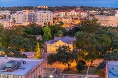 Στο κέντρο της πόλης ορίζοντας του San Antonio Στοκ Φωτογραφία